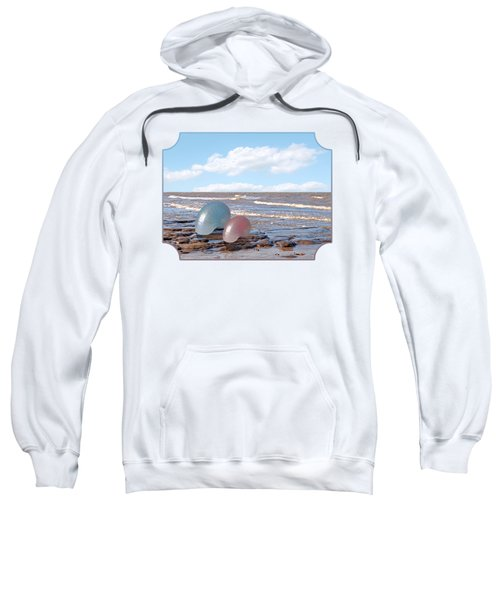 Ocean Love Affair - Nautilus Shells - Square Sweatshirt