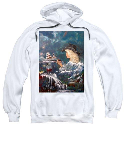 Ocean Wine Sweatshirt