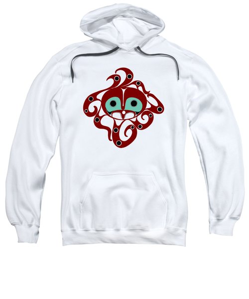 Octopus - Northwest Coast Formline Design Sweatshirt