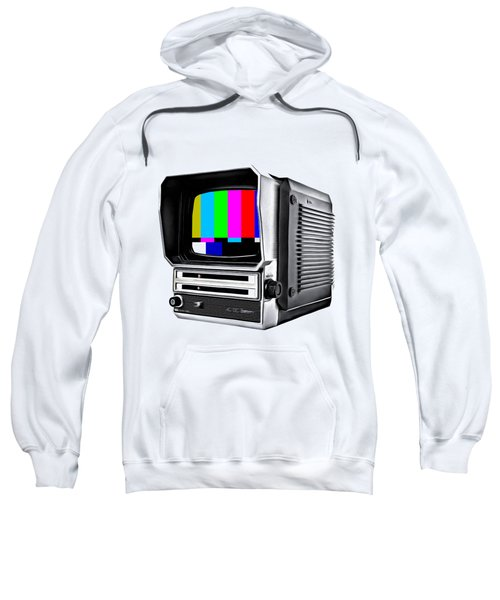 Sweatshirt featuring the photograph Off Air Tee by Edward Fielding