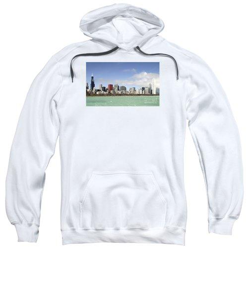 Off The Shore Of Chicago Sweatshirt