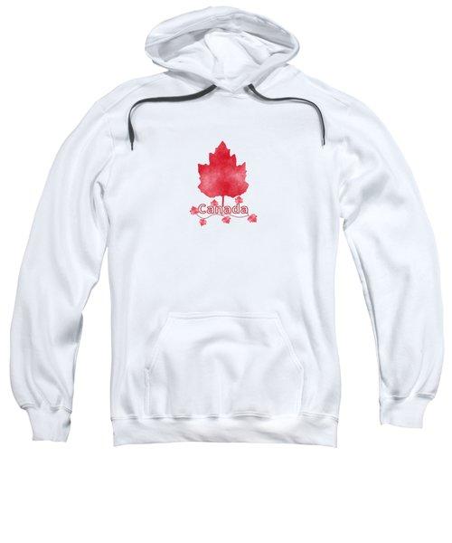 Oh Canada Sweatshirt by Kathleen Sartoris