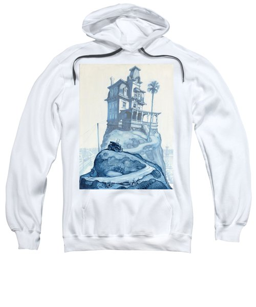 Oil Fields And Orchards Sweatshirt