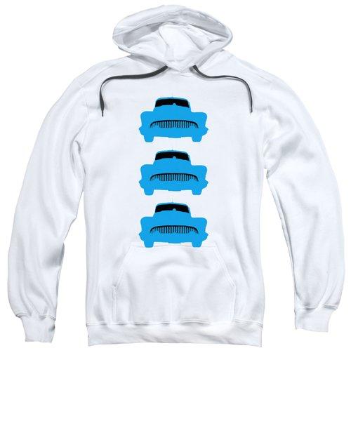 Old Buicks Blue Times Three Sweatshirt