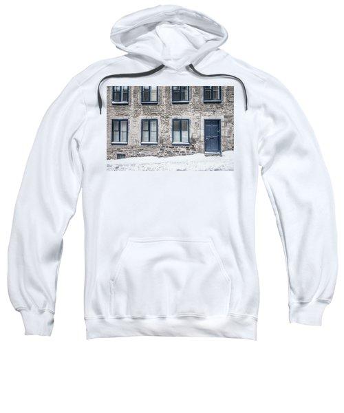 Old Building In Quebec City Sweatshirt