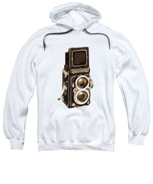Old Camera Phone Case Sweatshirt