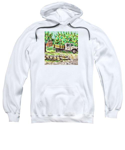 Old Farming Truck Sweatshirt