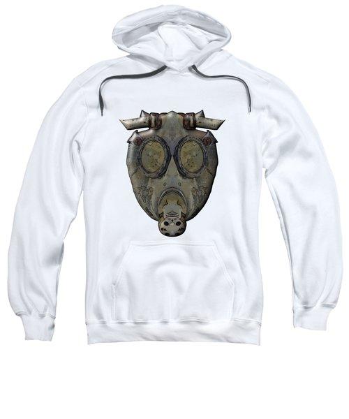 Old Gas Mask Sweatshirt