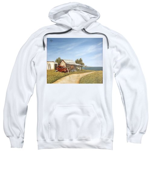 Old House By The Sea Sweatshirt