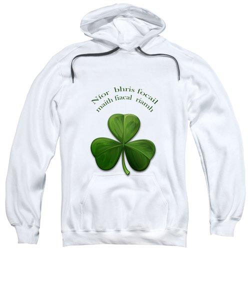 Old Irish Sayings Sweatshirt