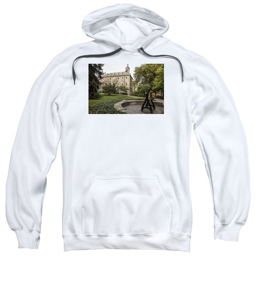 Old Main Penn State Bell  Sweatshirt by John McGraw