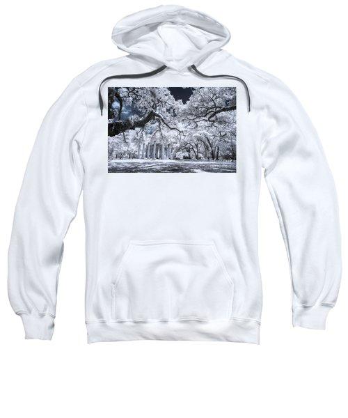 Old Sheldon Church In Infrared Sweatshirt