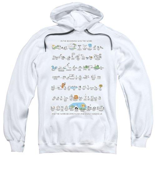 Old Testament Timeline Color Sweatshirt