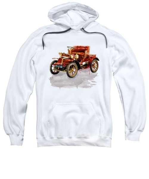 Oldtimer Car Watercolor Sweatshirt