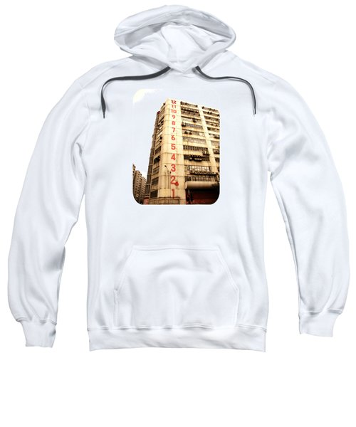On A Dozen Different Levels Sweatshirt by Ethna Gillespie
