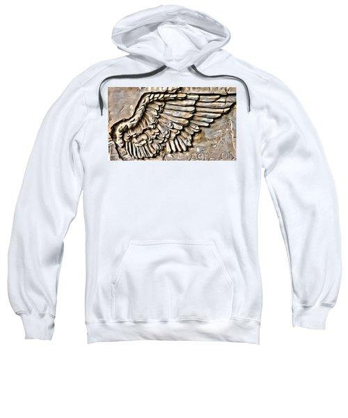 On Angels Wings Sweatshirt