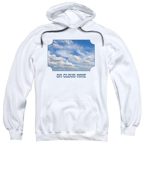 On Cloud Nine - Blue Sweatshirt