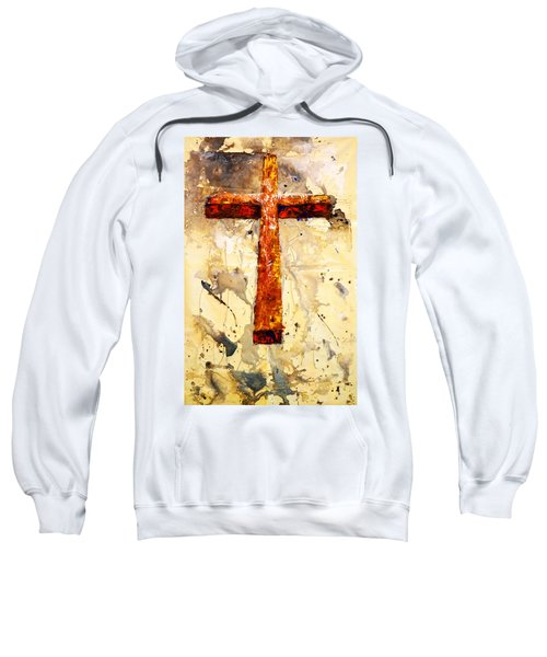 On That Old Rugged Cross Sweatshirt