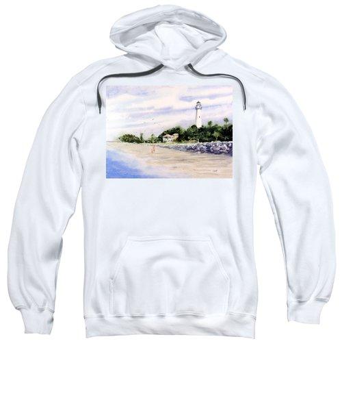 On The Beach At St. Simon's Island Sweatshirt
