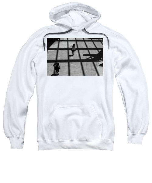 Sweatshirt featuring the photograph On The Grid by Eric Lake