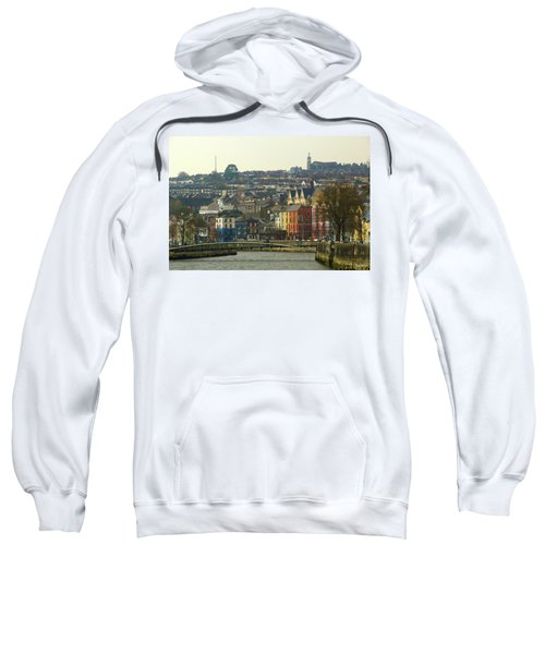 On The River Lee, Cork Ireland Sweatshirt