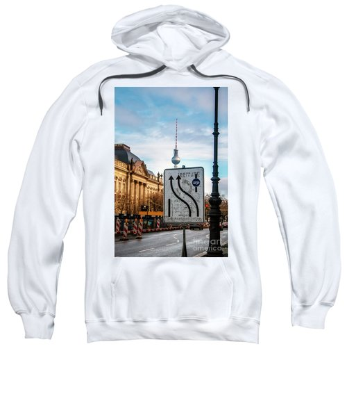 On The Road In Berlin Sweatshirt