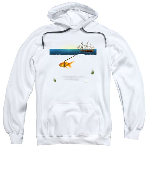 On The Way  Sweatshirt by Mark Ashkenazi