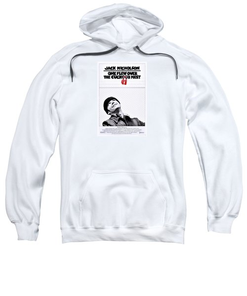 One Flew Over The Cuckoo's Nest Sweatshirt by Movie Poster Prints