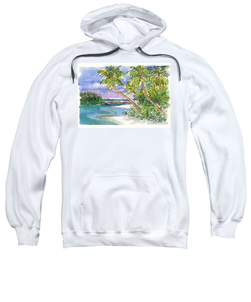 One-foot-island, Aitutaki Sweatshirt
