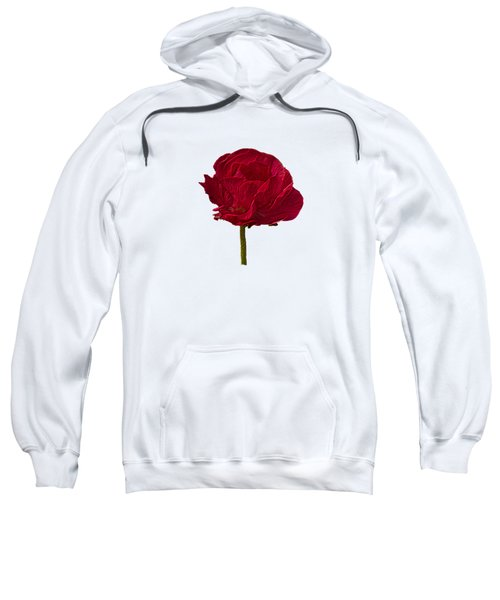 One Red Flower Tee Shirt Sweatshirt