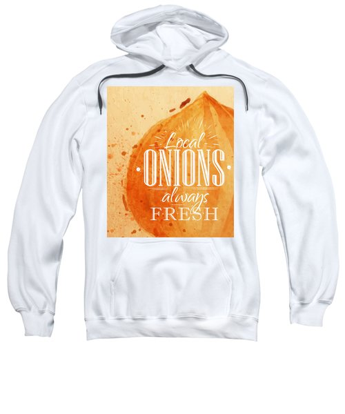 Onion Sweatshirt by Aloke Creative Store
