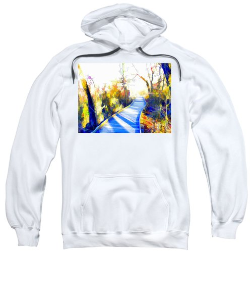 Open Pathway Meditative Space Sweatshirt