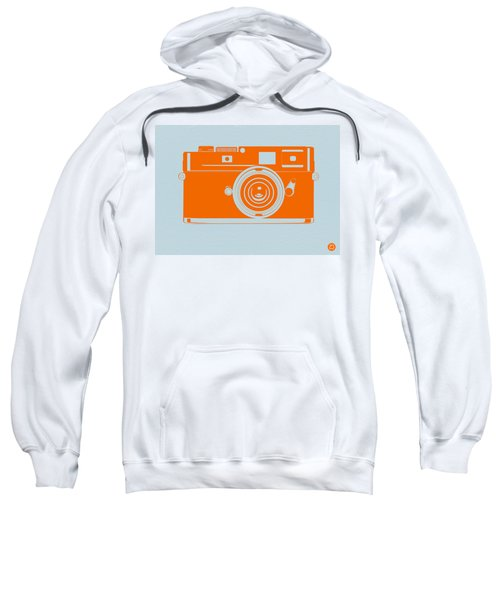 Orange Camera Sweatshirt