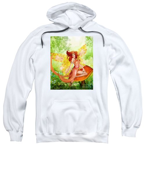 Orange Fairy Sweatshirt