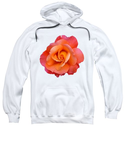 Orange Rosebud Highlight Sweatshirt