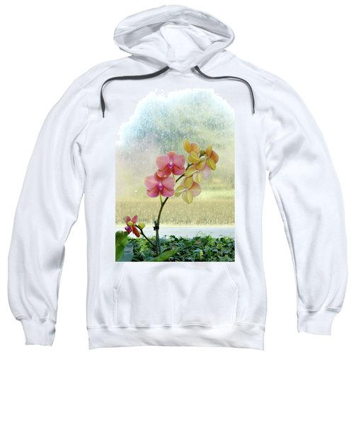 Orchid In Portrait Sweatshirt