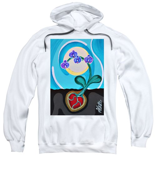 Orchids For My Love Sweatshirt