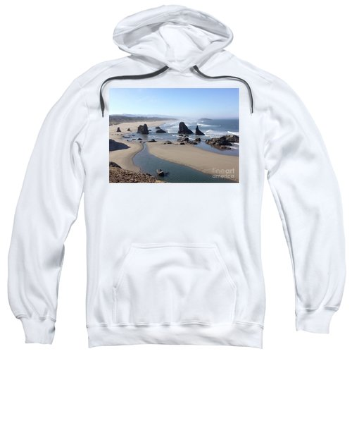 Oregon Coast Sea Stacks Sweatshirt