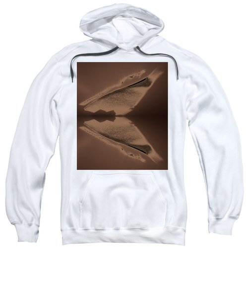 Organic Details Near That Strongly-held Dividing Line 2015 Sweatshirt