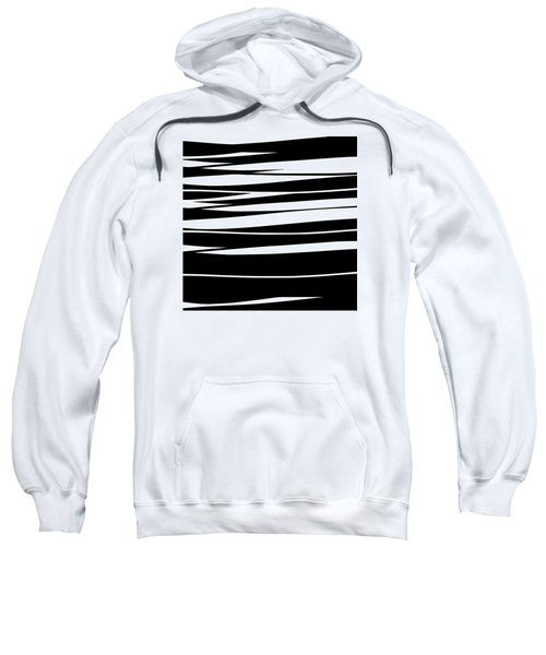 Organic No 9 Black And White Sweatshirt