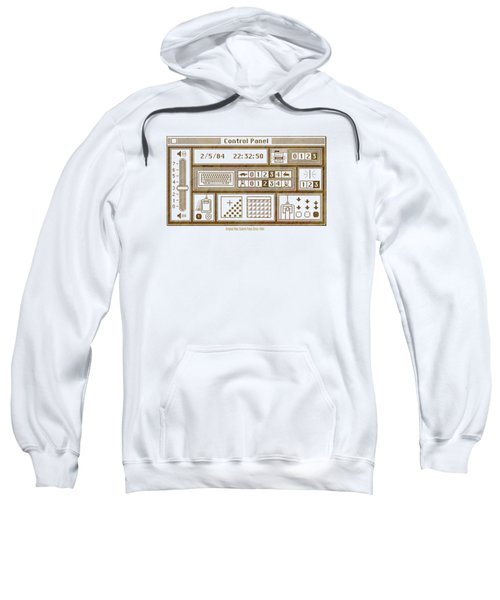Original Mac Computer Control Panel Circa 1984 Sweatshirt