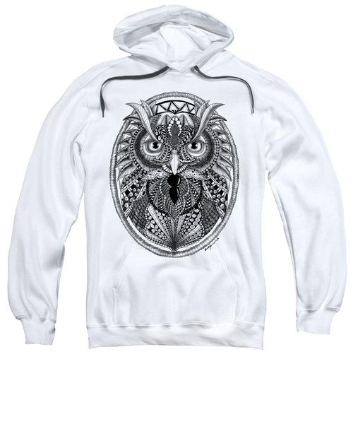 Ornate Owl Sweatshirt