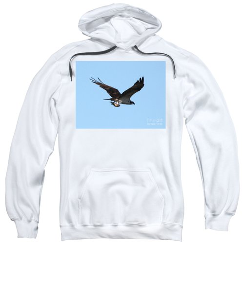 Osprey With Fish Sweatshirt