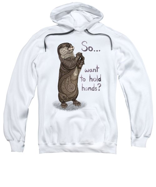 Otter Valentine Sweatshirt by ZH Field