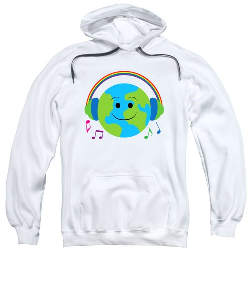 Our Musical World Sweatshirt by A