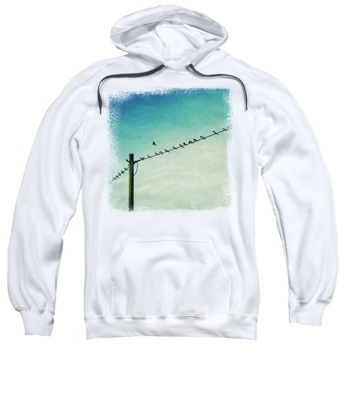 Out Of Line - Birds On A Wire Sweatshirt
