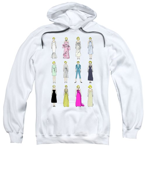 Outfits Of Marilyn Fashion Sweatshirt by Notsniw Art