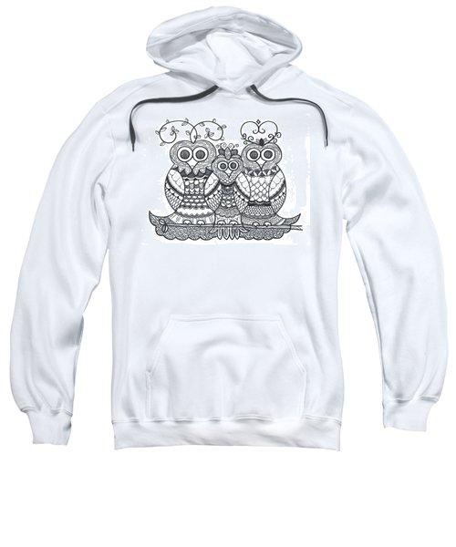Owl Family Sweatshirt