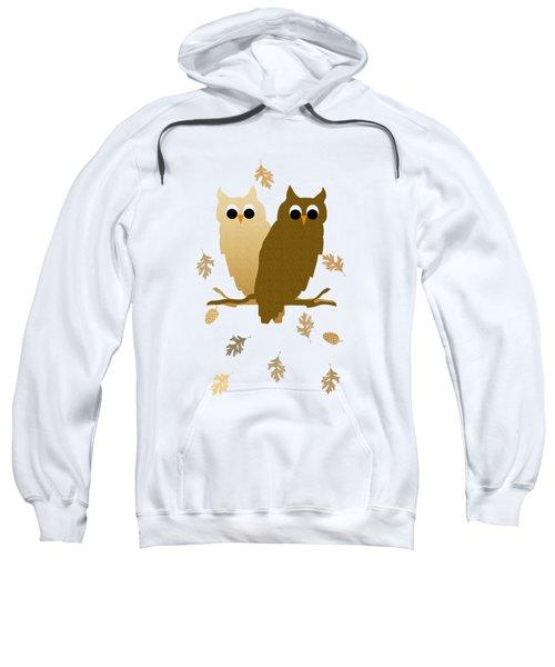 Owl Pattern Sweatshirt