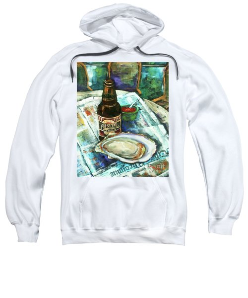 Oyster And Amber Sweatshirt